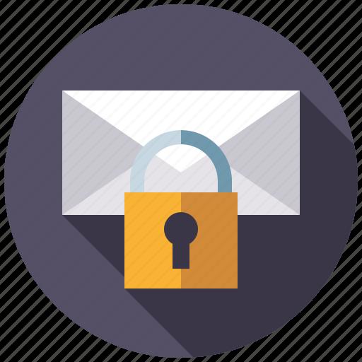 encryption, mail, marketing, message, seo, service, web icon