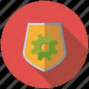 marketing, protection, security, seo, service, shield, web