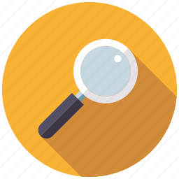 magnifying glass, marketing, research, search engine, seo, service, web icon