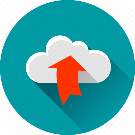 arrow, arrows, cloud, up, upload, uploading icon