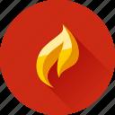 fire, flame, burn, hot