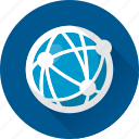 communication, connection, earth, globe, internet, network, online, planet, social, sphere, web, world icon