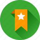 achievement, award, badge, bookmark, favorite, favorites, favourite, prize, star, winner icon