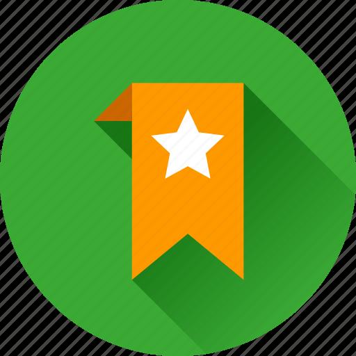 achievement, award, badge, bookmark, favorite, favorites, favourite, prize, star, winner icon