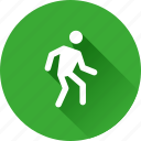 human, pedestrian, walk, walking icon