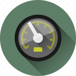 fast, speed, speedometer icon