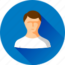 account, avatar, human, male, man, people, person, profile, user icon
