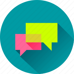 bubble, chat, comment, communication, dialogue, discussion, message, messaging, speech, talk, talking, text icon