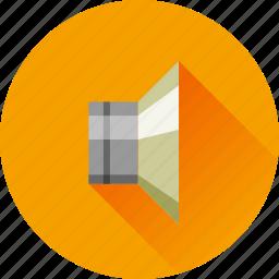 audio, media, music, sound, speaker, volume icon