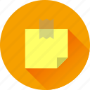 document, note, paper, sticker icon