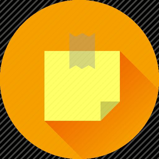 document, note, paper, sticker icon