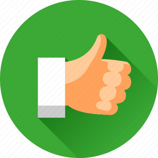 hand, like, thumb up, vote, voting, yes icon