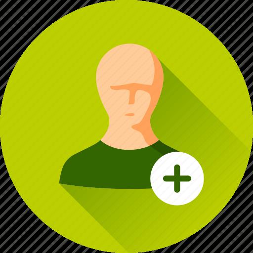 account, add, avatar, check mark, man, people, person, profile, user icon