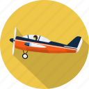 aircraft, airplane, flight, pilot, plane, ship, transport icon