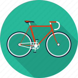 bicycle, bike, cycle, exercise, fitness, sport icon