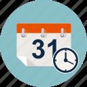 agenda, calendar, clock, date, reminder, time, timer