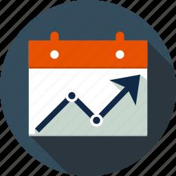 board, chart, diagram, ecommerce, finance, graph, line graph icon