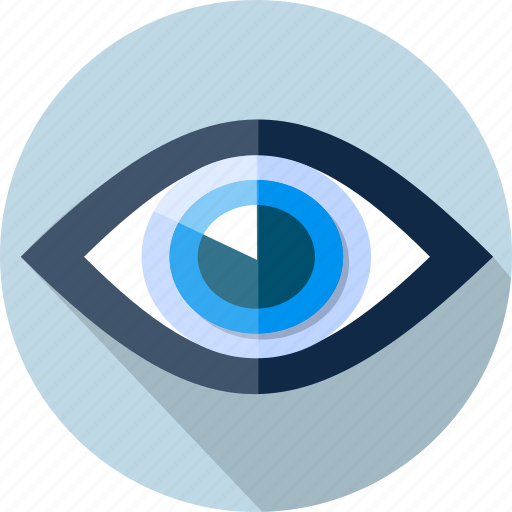 eye, eyeball, find, optical, retina, search icon