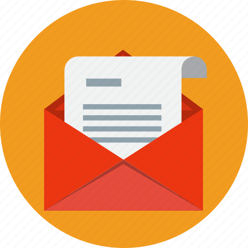 address, contact, email, envelope, letter, mail, message icon