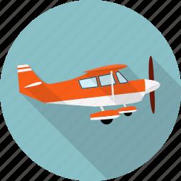 aircraft, airplane, flight, plane, transport, vehicle icon