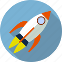 fly, launch, rocket, ship, shuttle, spacecraft, spaceship icon