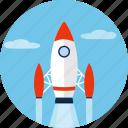 rocket, ship, shuttle, space, spacecraft, spaceship