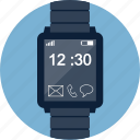 clock, device, smart, smartwatch, time, watch, wristwatch icon
