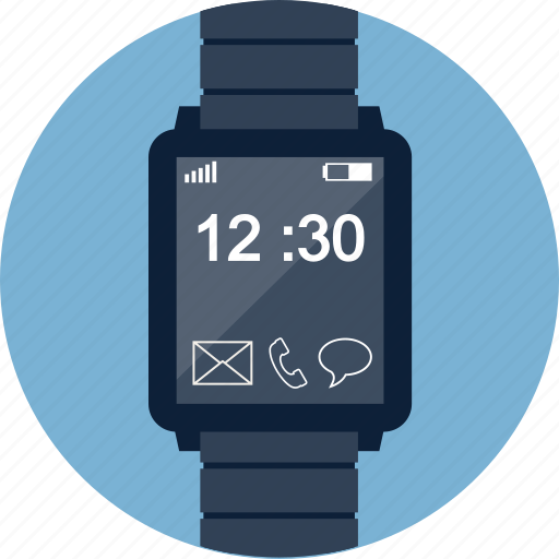 clock, device, smart, smartwatch, time, watch, wristwatch icon