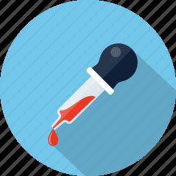 color, dropper, eyedropper, picker, pipette icon