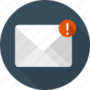 communication, email, envelope, letter, mail, message, new icon