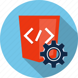 code, cog, gear, html, html5, preferences, settings icon