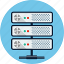 cloud, data, database, hosting, network, server, storage icon