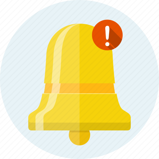 alarm, alert, bell, message, new, notification, reminder icon