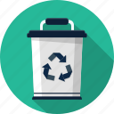 bin, can, dustbin, trash icon
