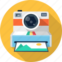 cam, camera, photo, photography, polaroid icon