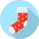christmas, claus, december, gift, santa, socks icon