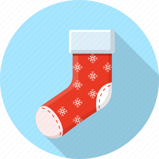 christmas, claus, december, gift, santa, socks icon