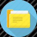 archive, data, doc, file, folder icon