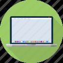 bar, computer, dock, imac, laptop, mac, macbook icon