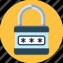 lock, padlock