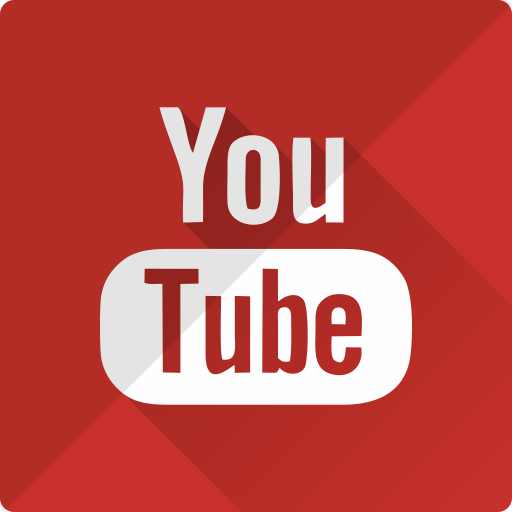 media, music, play, player, video, youtube icon