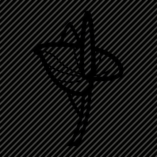 cartoon, flowers, nature, petals, plant icon