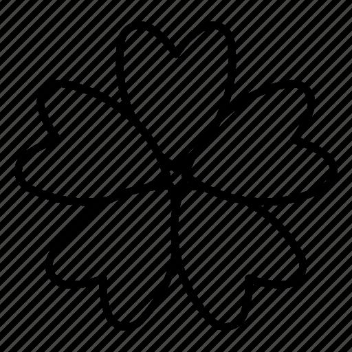 blossom, flower, malva, nature, spring icon