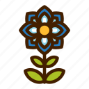 blossom, flower, nature, plant, spring, summer icon