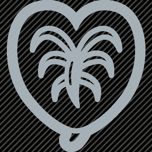 anthurium, flower, flowers icon