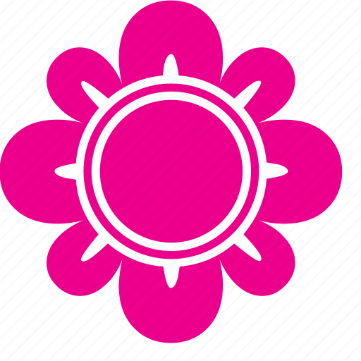 abstract, bloom, flower, garden, nature icon