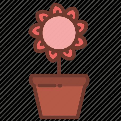 floral, flower, flowers, garden, nature, plants, pots icon