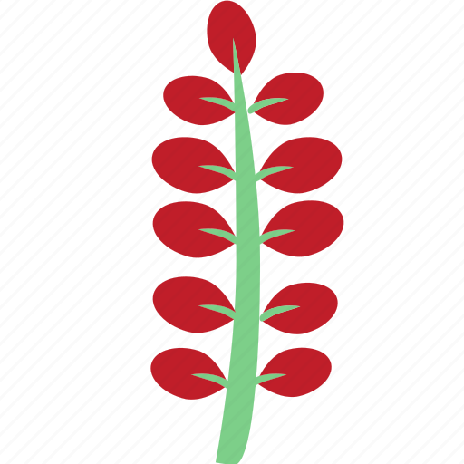 flowers, garden flowers, garden plants, leaves, plants, red flower, red leaves icon