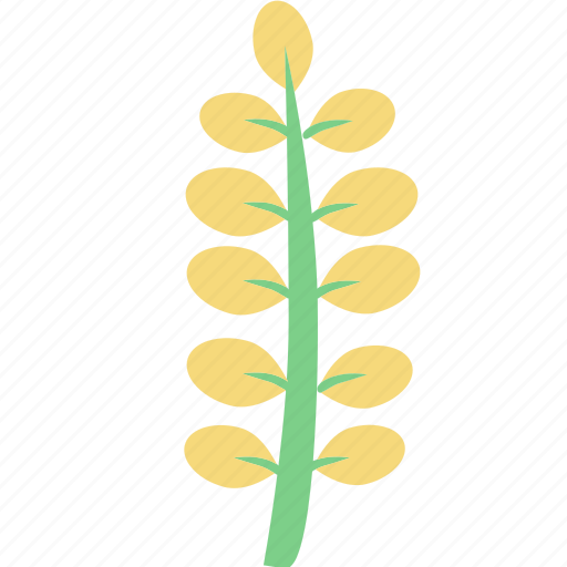 flowers, garden flowers, garden plants, leaves, plants, yellow flowers, yellow leaves icon