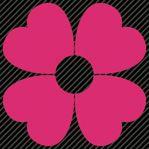 clover, flower, good luck, lucky, plant, valentine, wedding icon